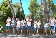 Team di animazione del resort