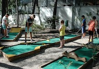 Resort con minigolf