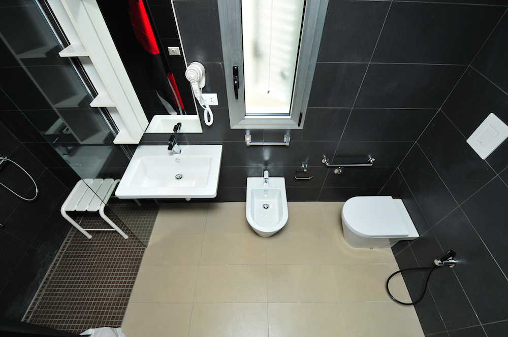 Bagno mini suite superior accessibile