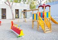 Resort con parco giochi all'aperto