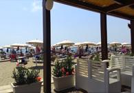 Chiosco Bar in spiaggia