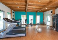 Resort con centro fitness Technogym