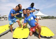 Utilizzo gratuito di canoe mono e biposto