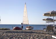 Corsi di vela FIV in spiaggia